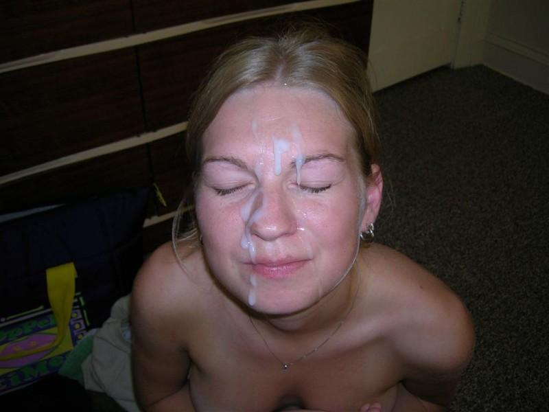 sperme visage salope (12)