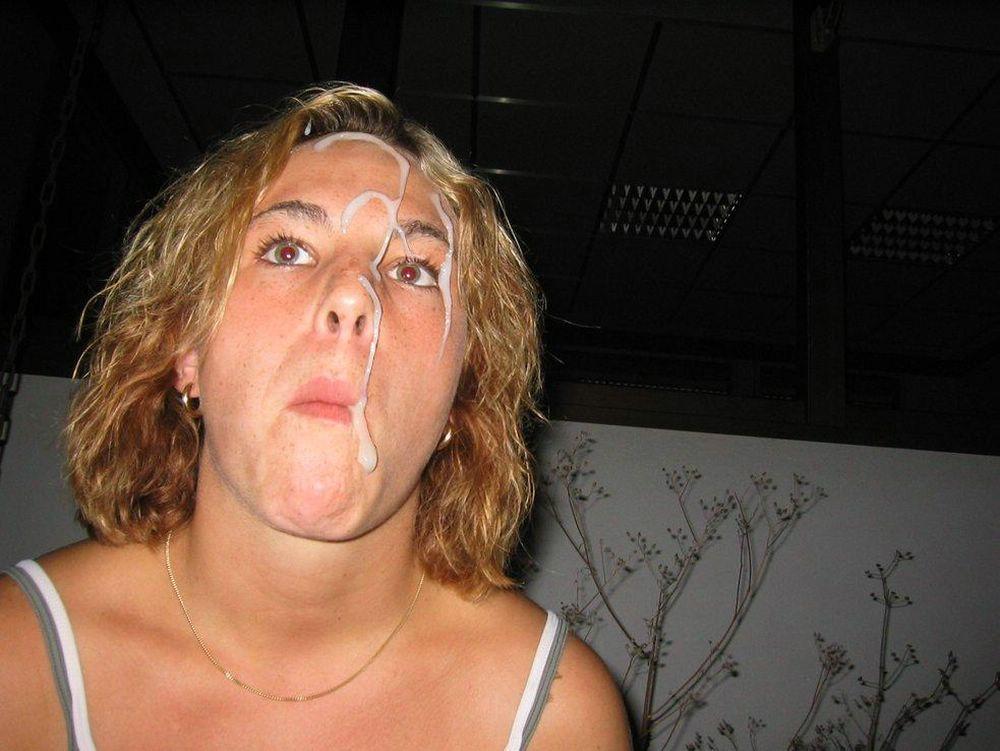 sperme visage salope (2)