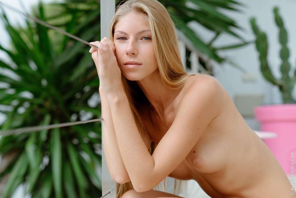 blonde nue chatte lisse (118)