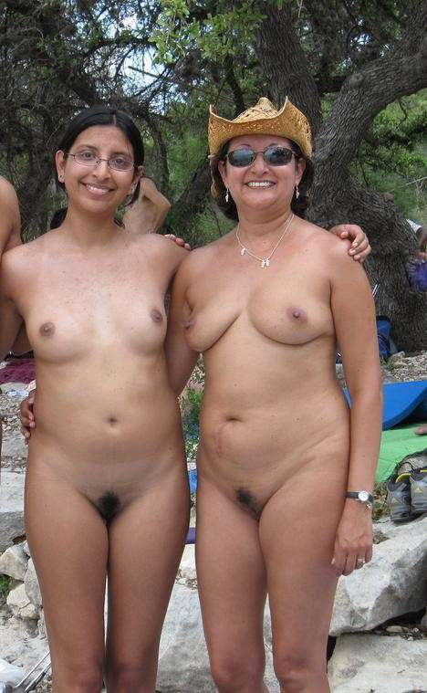 Amature nudist mom n daughter #6