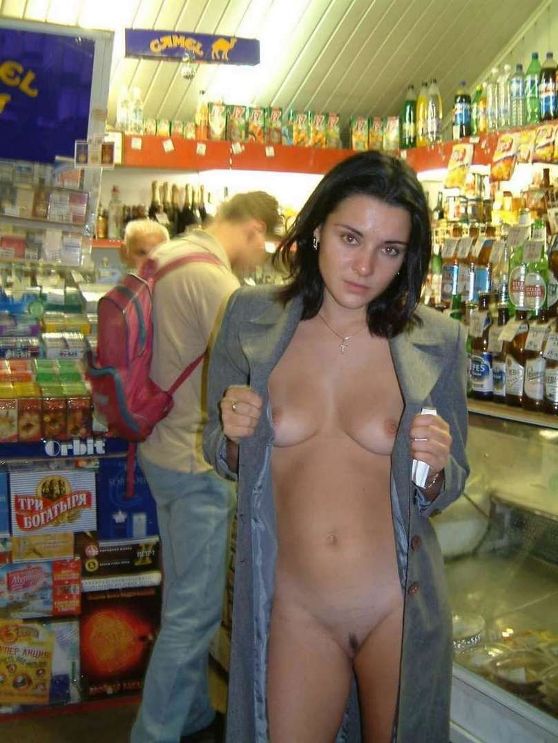 Topless women in walmart