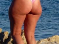 Belles vues par derrière sur des grosses fesses