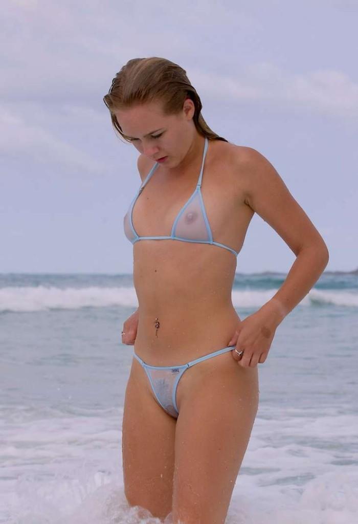 All became en bikini sur