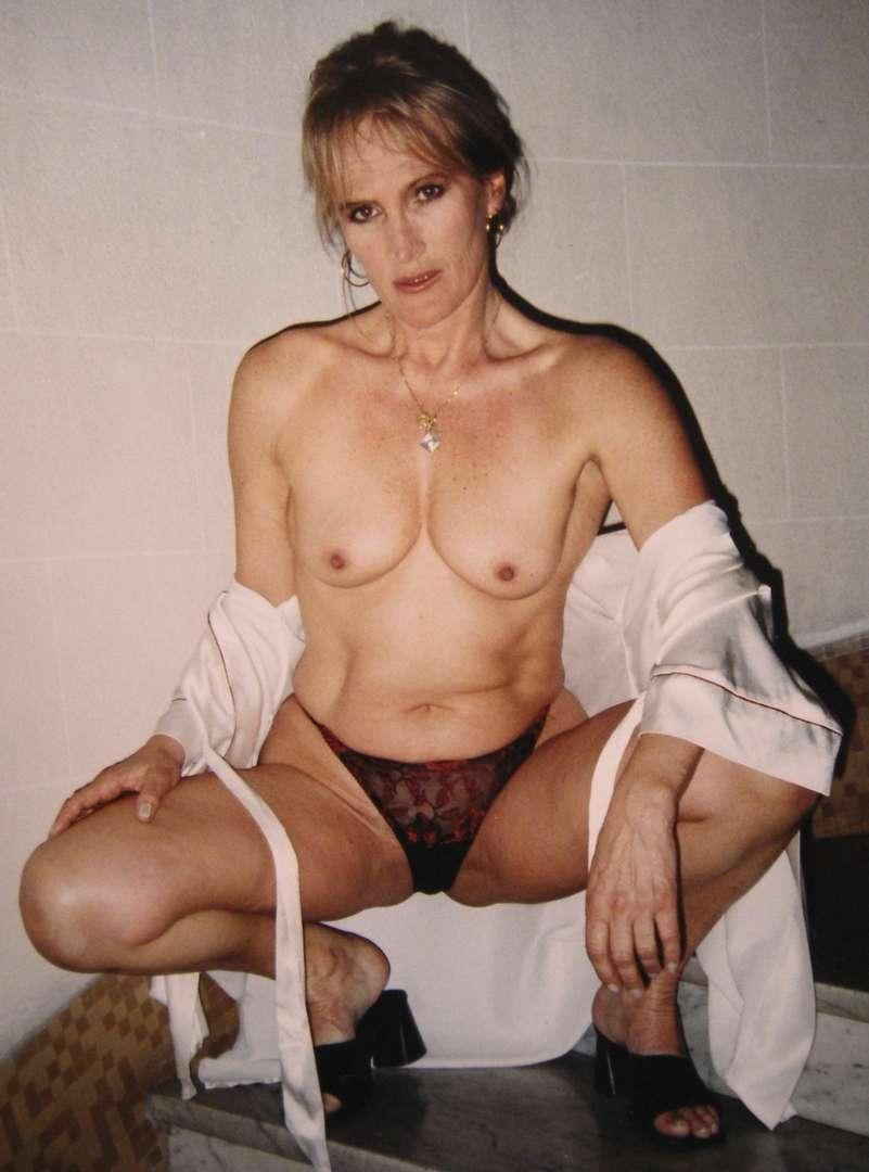 photo vintage vieille blonde (102)