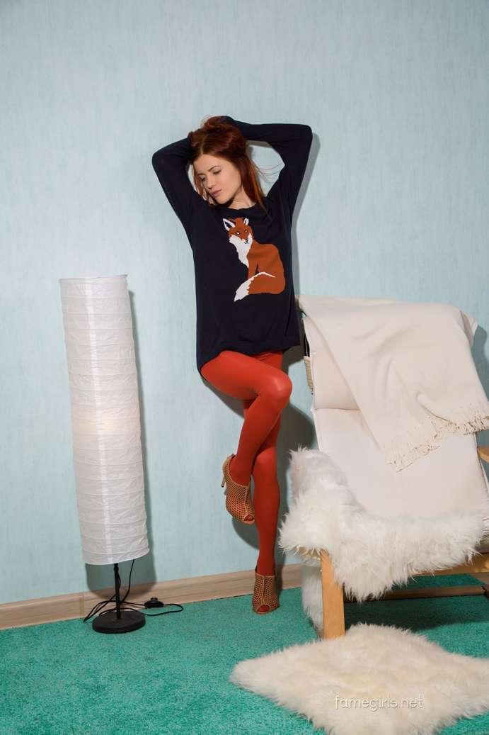 teen rousse petits seins nue (107)