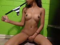 Mix de jeunes femmes noires coquines et sexy