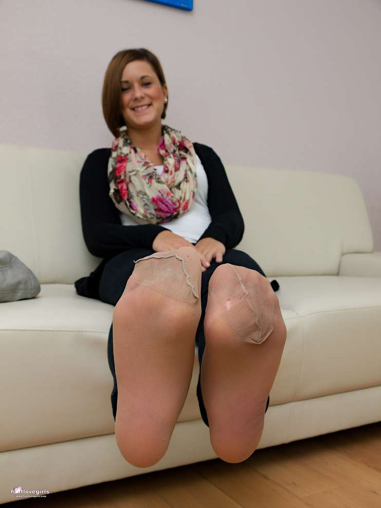 Photos et video de collants - Jambes sexy en collants