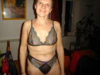 En lingerie