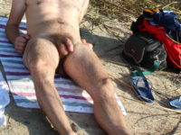nu a la plage