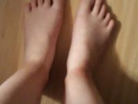 Les beau pieds de ma copine
