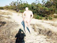 Séance photo à la plage par un inconnue